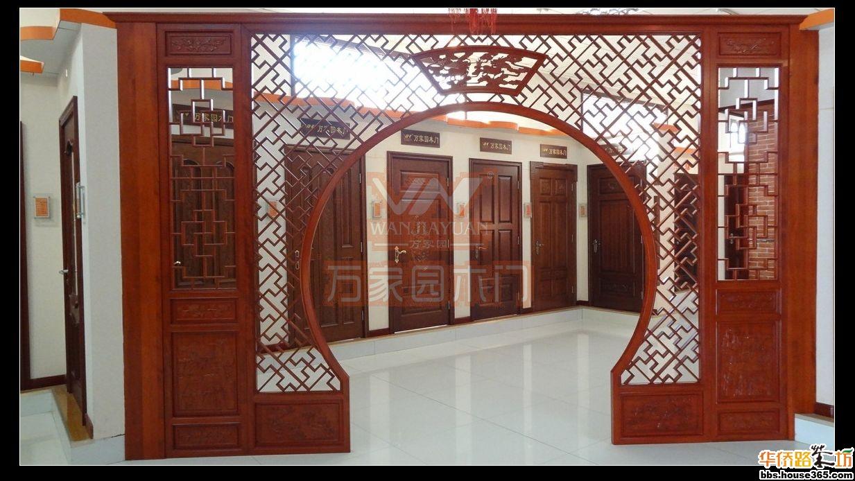 【万家园木门】带你了解中式装修中的重要元素——花格的制作(图)