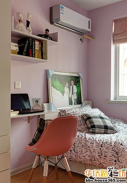 B5户型两室两厅一卫85平米装修设计