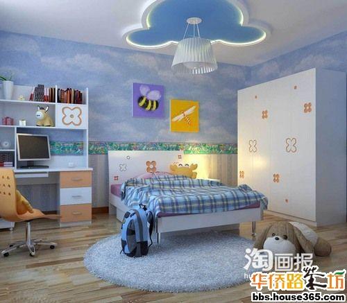 儿童房装修设计效果图欣赏