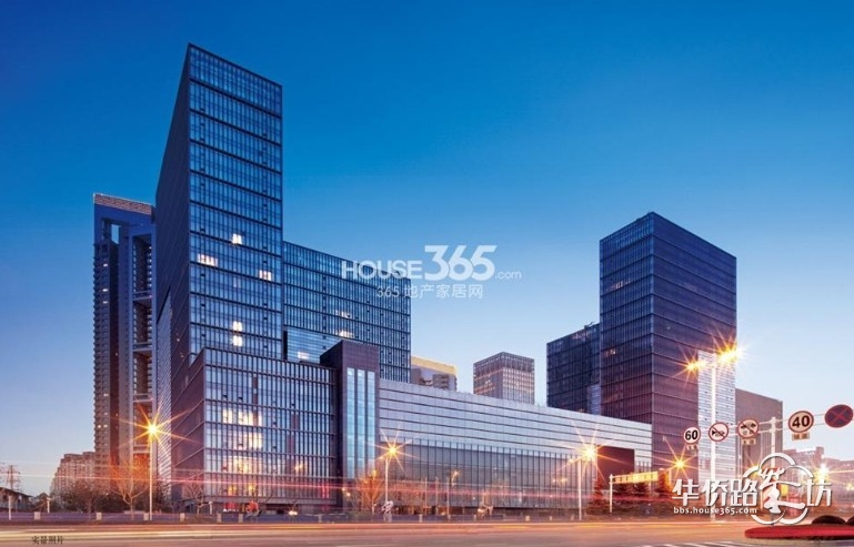 南京新城大厦塔楼标注层平面