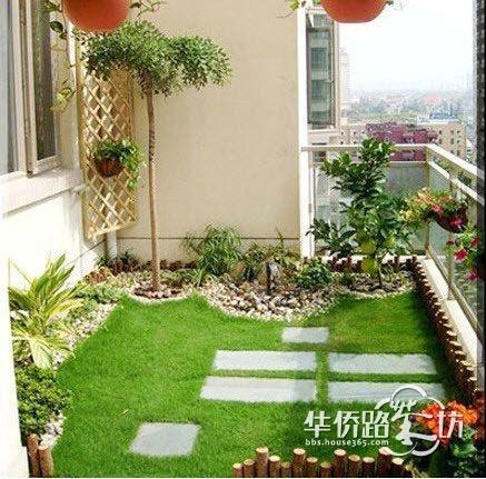 家中有这样一个微型生态小阳台,对于忙碌一天的你来说,是个不错的放松自我的地方。