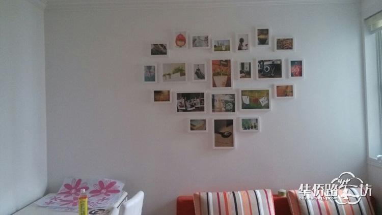 晒晒我家的照片墙和墙贴,无比欢乐的幼儿园风格!