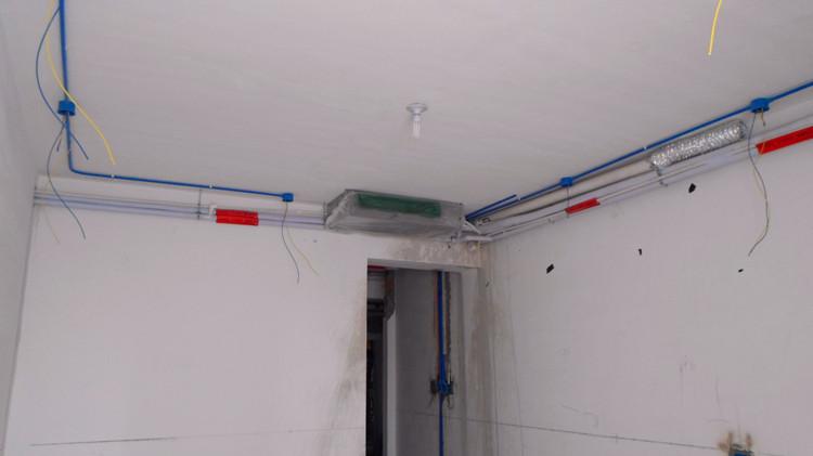 工地室内线路安装图纸图片 工地水电预埋图纸符号,建筑工地
