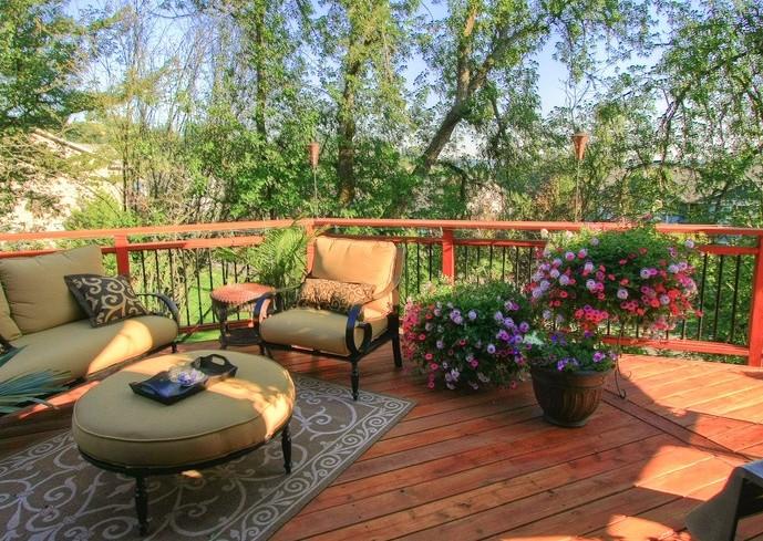 楼顶露台花园设计和阳台绿化布置,给你另外一种概念