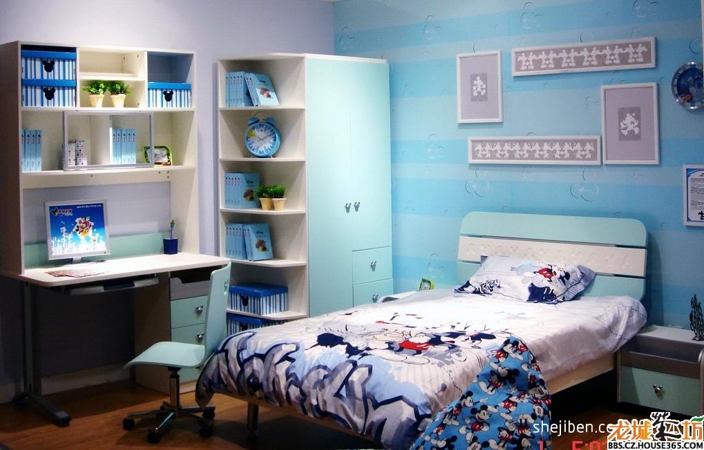 儿童卧室装修效果图大全