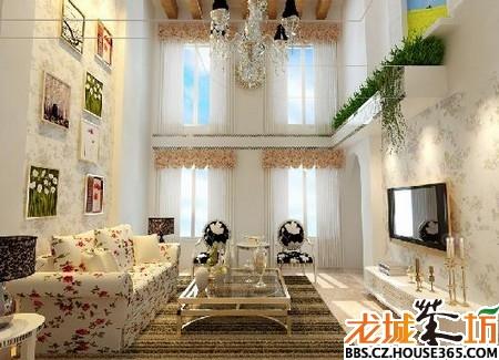 家居客厅装修效果图 家装大家谈 龙城茶坊