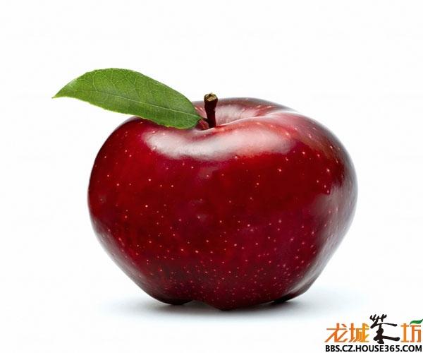 苹果,落叶乔木,叶子椭圆形