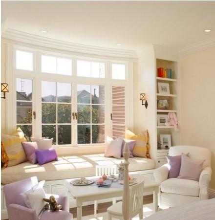 欧式阳台装修效果图 宜家风情的客厅,亮色调阳台设计榻榻米