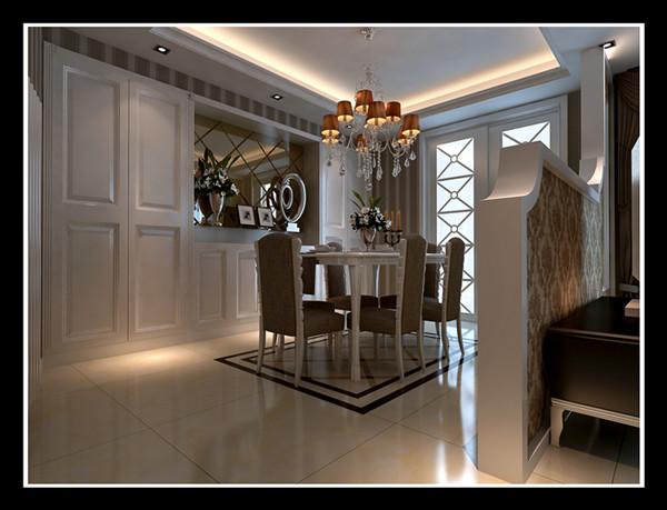 简欧风格继承了传统欧式风格的装饰特点