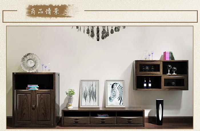 光明家具之光明实木客厅柜