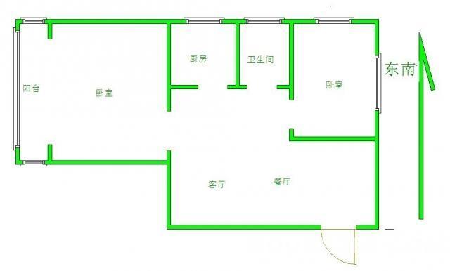 碧桂园城市花园3室2厅1卫118平米整租毛坯