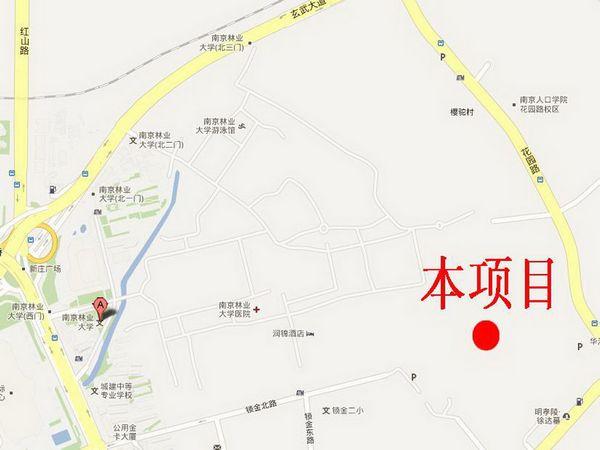 南京林业大学青年教师公共租赁住房项目总平面方案批前公示图片