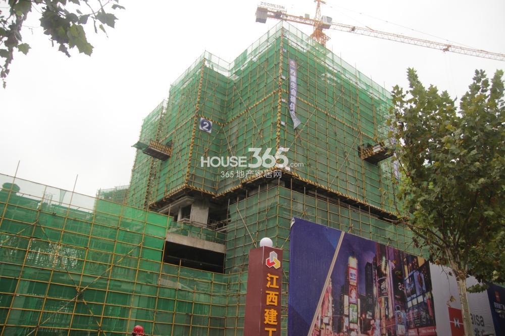 佳兆业广场2号楼工程进度(2013.11.14)