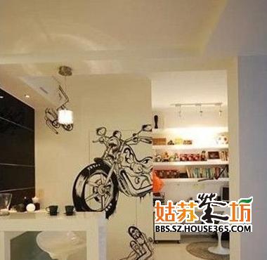 妙用餐厅手绘效果图 让生活更轻松
