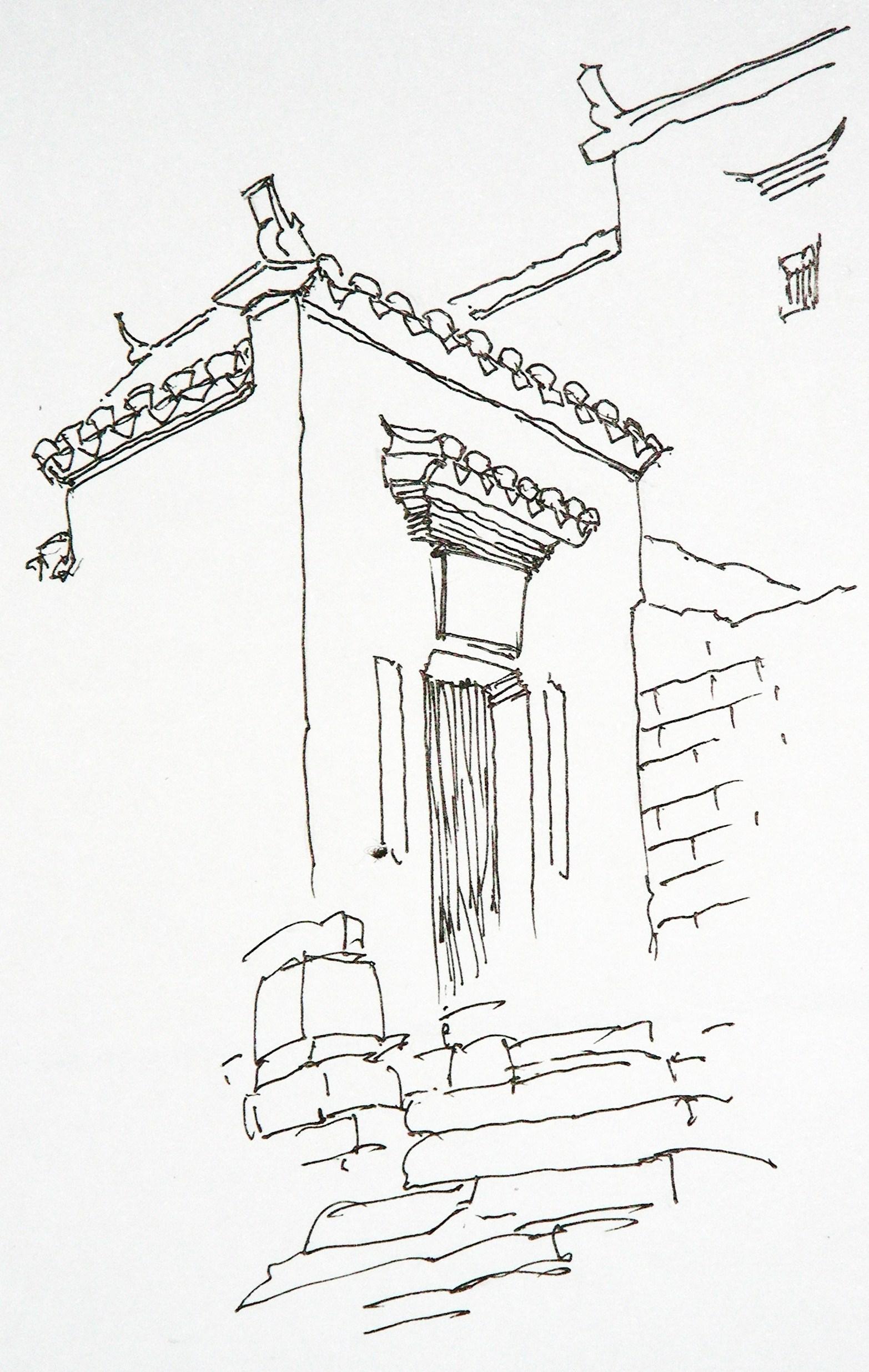 简笔画 手绘 线稿 1556