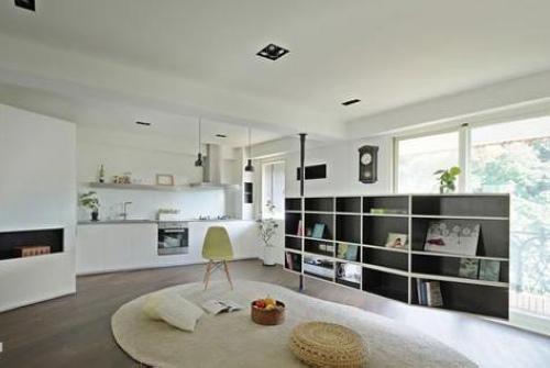 简约风格装修图片 80平米两居室充满阳光气息