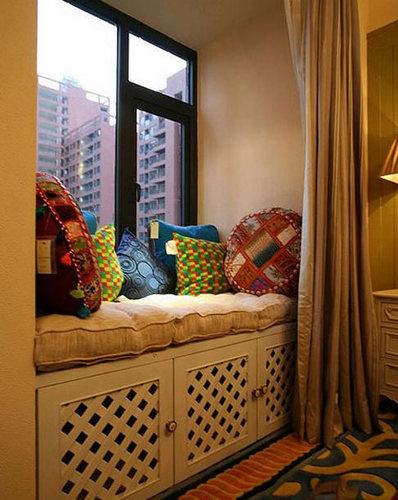 飘窗装修效果图 12款中式风格设计悠远古雅