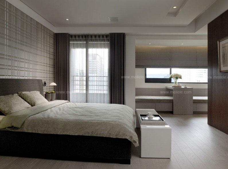 你的居家卧室首选 实木高低床效果